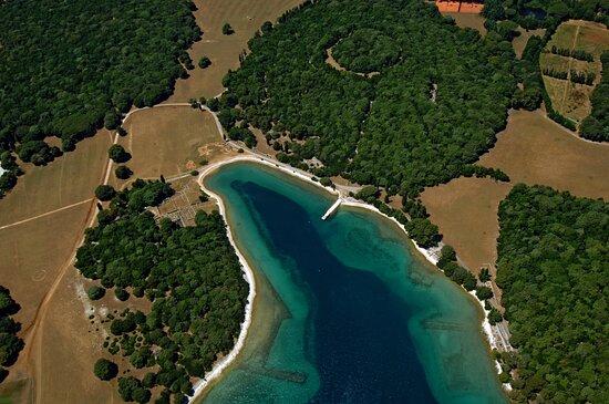 Brijuni National Park, Croatia: Verige bay