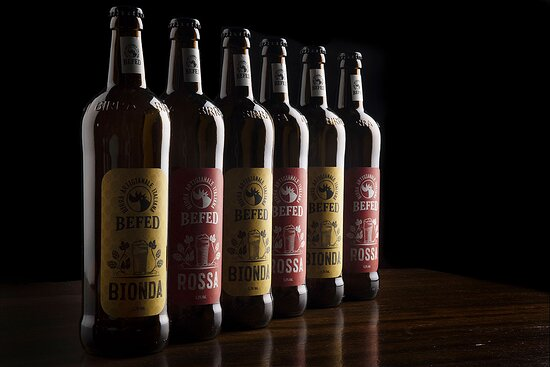 Birre BEFED Bionda e Rossa
