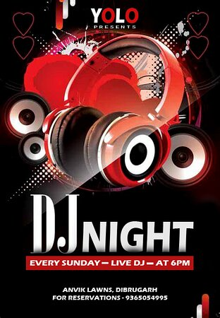 Enjoy this Saturday's DJ Night with mouthwatering food and varieties of Drinks 😍😍😍 Call Today To Book a Table 😍😍😍 Address - Anvik Lawns, Khaliamari, Dibrugarh-05 For Book your Reservations Call - 9365054995 Do follow us on instagram - youonlyliveoncedib #smile #eat #laugh #talk #kiss #drink #shout #dj #party #youonlyliveonce 😊🍽😀😌😘🍺😜💃💞