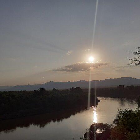 Turmi, Ethiopia: Karo village,  korcho.