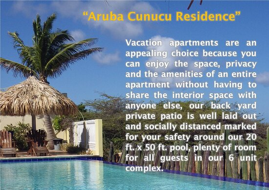 Enjoy a day by the pool! - Aruba Cunucu Residence işletmesinin resmi - Tripadvisor