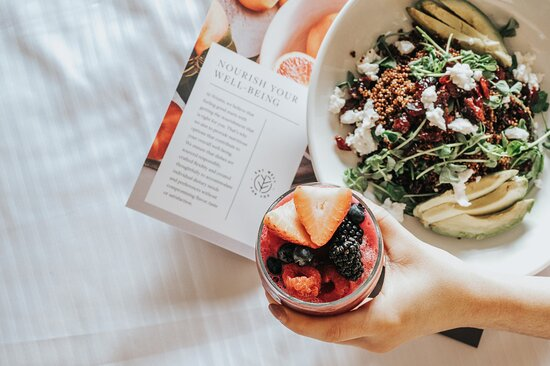 Nourish your well-being with our Eat Well Menu