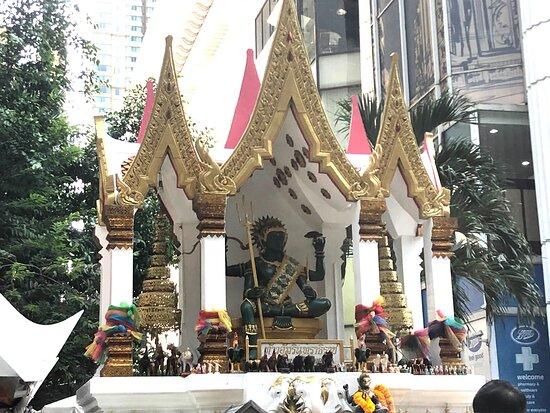 Phra Indra Shrine