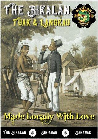 The Bikalan Tuak & Langkau prints