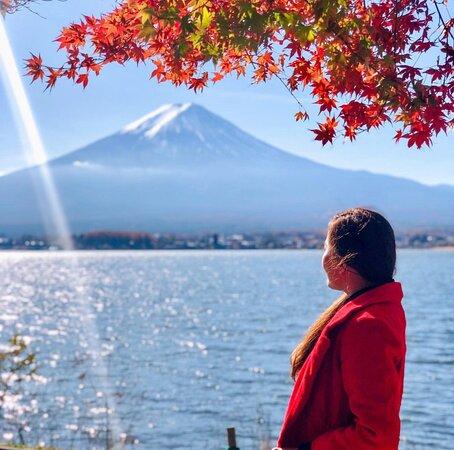 Mount Fuji 💕🍁🇯🇵