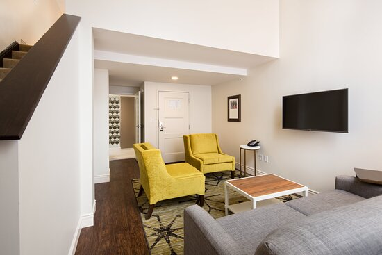 Bi-Level Suite at Hotel Indigo Baltimore Downtown Hotel