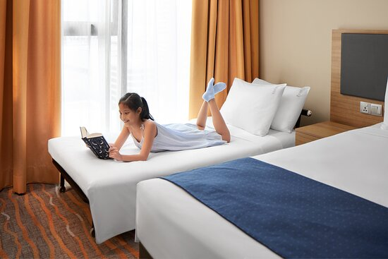 Family-friendly rooms with sofa beds