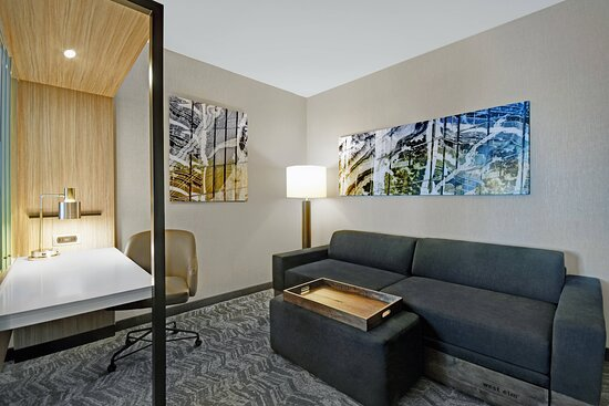 Suite - Living & Work Area