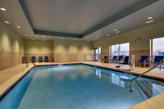 Our heated pool is just what you need at the end of the day.
