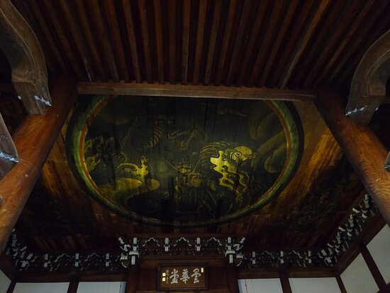 法堂天井の龍の図