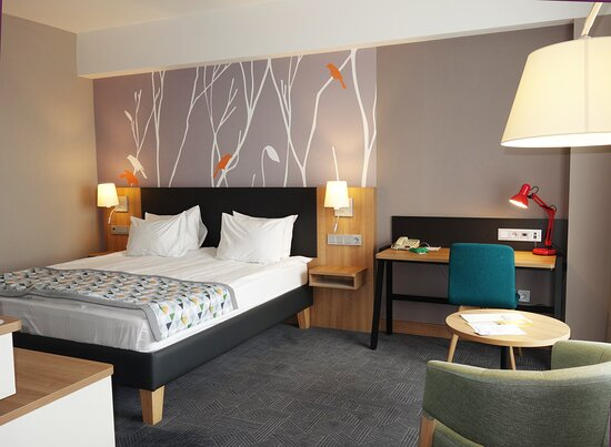 Deluxe rooms provide additional space