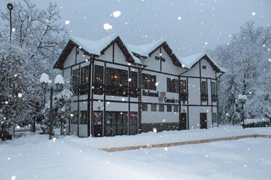 Baile Govora, Rumania: Restaurant Casade iarna