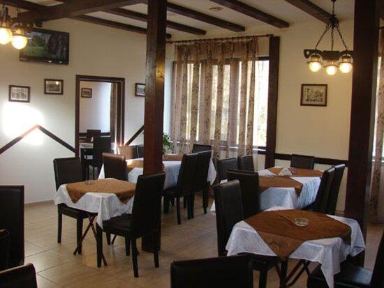 Baile Govora, Rumania: Restaurant Casade - 2 separeuri la etaj
