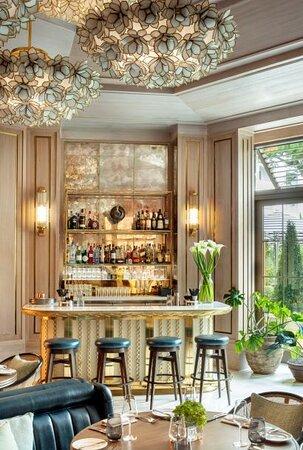 Bar area of Cafe Boulud The Bahamas