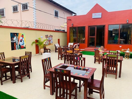 good location. our outdoor is best for a relaxing cozy lunch or dinner