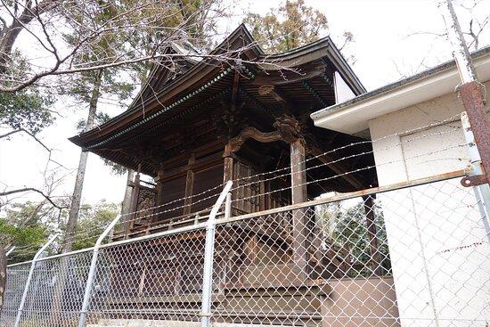 いの町・琴平神社 本殿