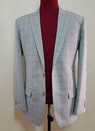 WINDOWPANE IVORY GLEN CHECK SUIT FROM SUIT FITTER