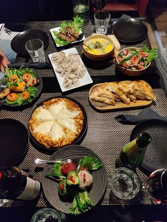 Excellent Georgian food
