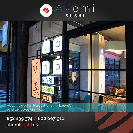 Aún no conoces nuestro rincón en el centro de Granada? Te esperamos en C/Martínez Campos, puedes reservar para almorzar o pedir para llevar hasta las 22:30 h! El auténtico sabor casero japonés te espera. 😋🍣