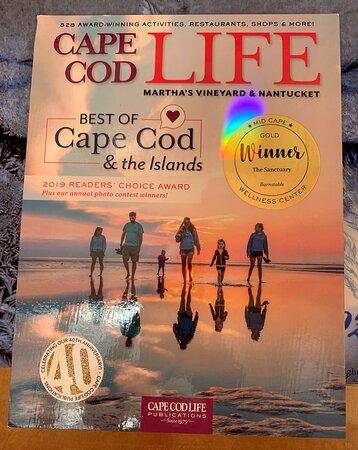 Cape Cod Life Best of Cape Cod Winners