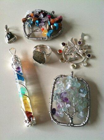 Hand-made local jewelry