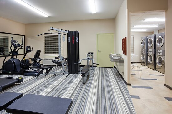24 hr Fitness Center & On Site Laundry Facility: Candlewood Suites