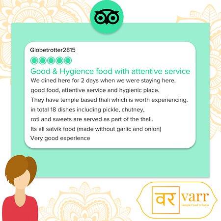 Happy customer feedback