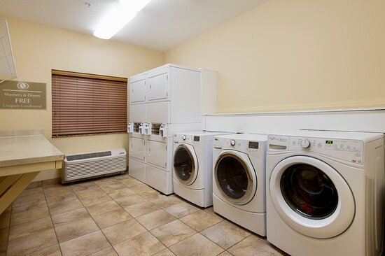 FREE Guest Laundry Facility On Site - just bring your own suds