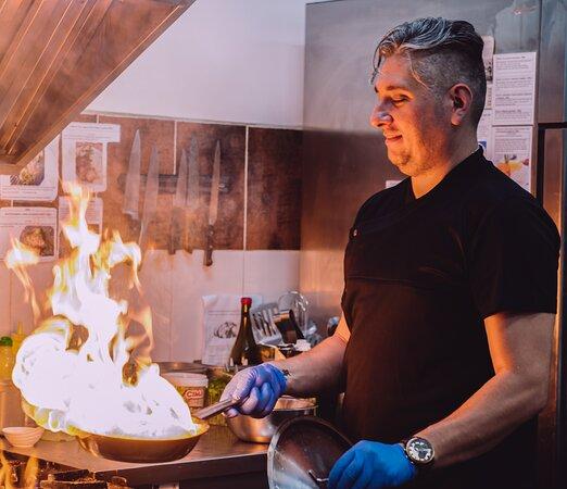 Our chef - Nikolay Tonev