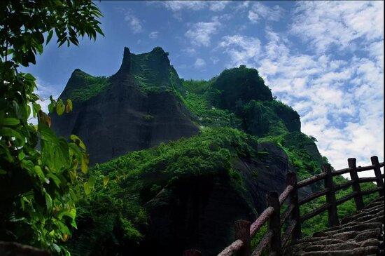Welcome to Guilin china Ba Jiao Zhai National Geo Park