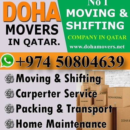 welcome  Our All Dear  Customers  My Name Is minhaz. We Offer to you For Our Moving And Relocation service     We do less price House Office And  Store ..   moving shifting and carpentery work   please call me Now Also Whats App .50804639 show phone - number we have   expert carpenter for dismantling any bedroom set  and fixed....   Transport service... Re location   service.. Labour service.. Gypsum partition..  Painting .. Packing service..   All kinds Furniture Remove and    Minhaz movers Sho