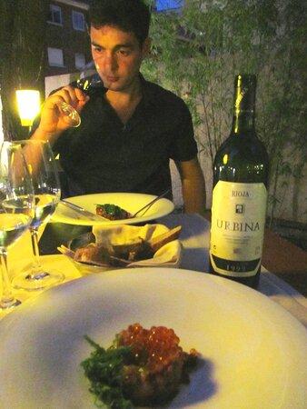 Pedro Urbina Vinos Restaurantes Madrid