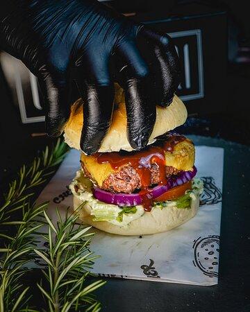 Burger BBQ.