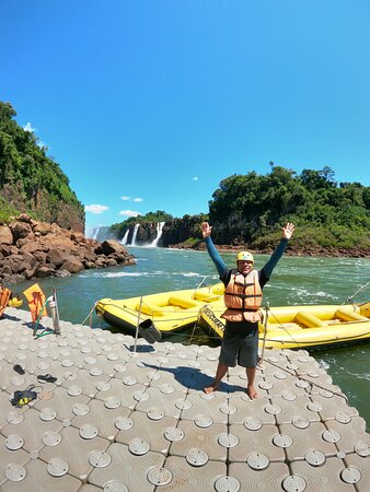 Iguazu Falls Admission Ticket: Brazilian Side: Rafting em Foz do Iguaçu.