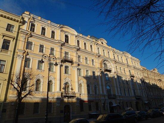 Mansion of A. A. Fadeyev - Revenue House of O. V. Serebryakova