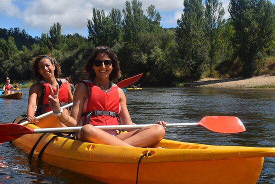 Relaxing on the Mondego river