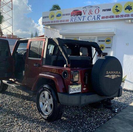 Rent a Car - Punta Cana: jeep wrangler disponible