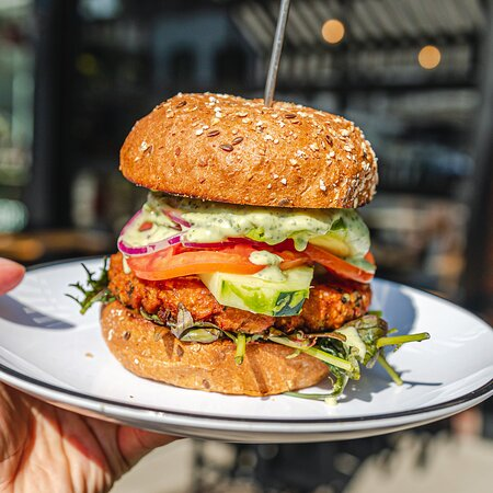 We've got the best plant-based burgers around!