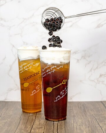 Could Nine and Golden Cloud Cream Drinks