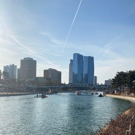 Songdo Central Park -incheon