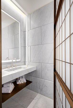 Hotel Cafe Royal Royal Suite Guest Bathroom