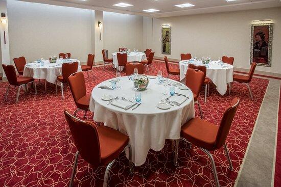 Joffre set up as Banquet Room