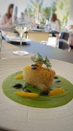 """Zàghara Restaurant - Villa Flora Relais """"Finocchio gratinato con insalata di Sicilia"""""""