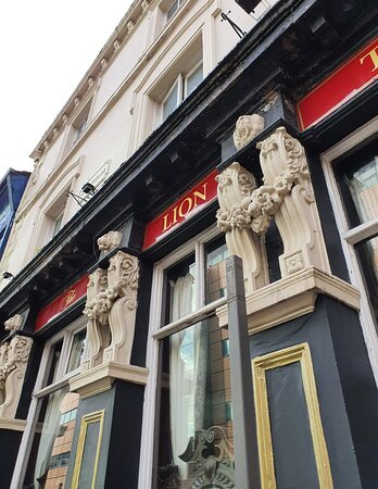 The Lion Tavern Pub in Liverpool Commercial District.