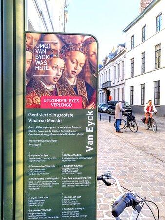 OMG! Van Eyck was here. Uitzonderleyck verlengd tot einde juni 2021. Het Lam Gods verhuist naar de grootste straalkapel van het nieuwe bezoekerscentrum.