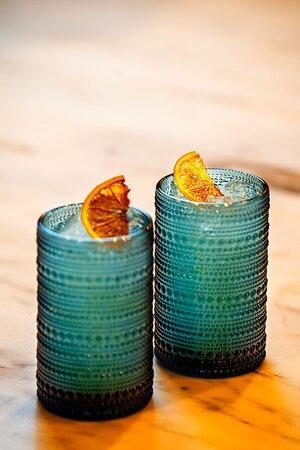 Riverside Revival - gin, frangelico, lemon, fennel