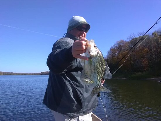 Perham, MN: Panfish on the fly rod.