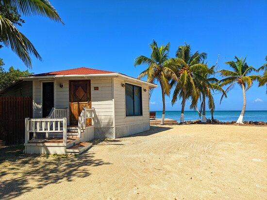 Honeymoon beach front suite