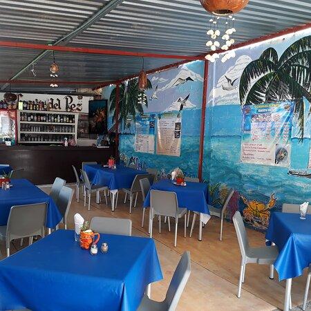 Playa del Carmen, Mexico: La cueva del pez maya mariscos