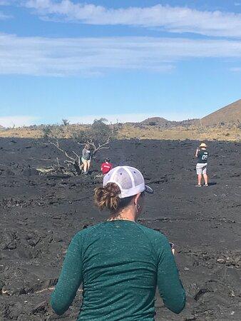 Volcano National Park Adventure From Kona: lava field